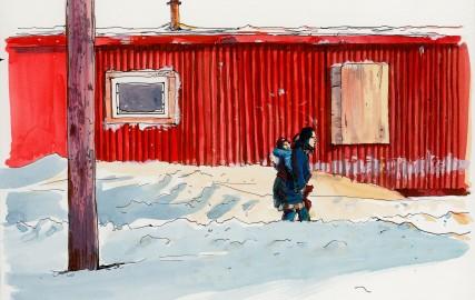 Exposition : une saison de chasse en Alaska