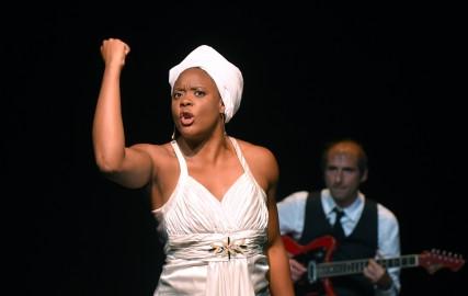 Portrait de Ludmilla en Nina Simone