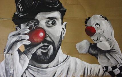 Exposition-performance Graff et DJ